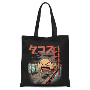 Ilustrata Takaiju Black Tote Bag - Black