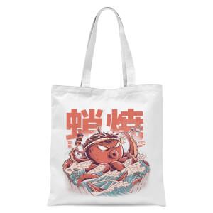 Ilustrata Takyaky Attack Tote Bag - White