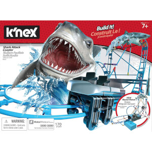 K'nex Shark Attack Coaster Building Set