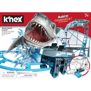K'nex Shark Attack Coaster Building Set