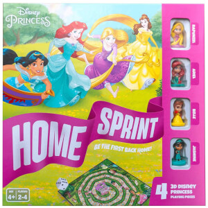 Disney Princess Home Sprint Board Game