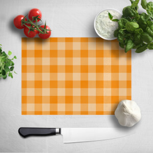 Baking Blanket Orange Chopping Board
