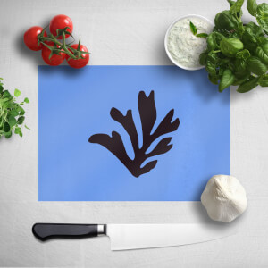 Black Leaf Chopping Board