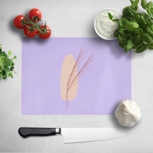 Abstract Leaf Chopping Board