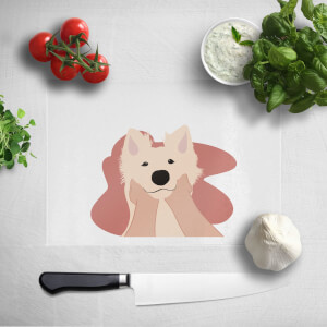 Doggy Smiles Chopping Board
