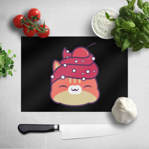 Cupcake Cat Chopping Board