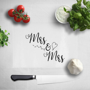 Mrs & Mrs Chopping Board