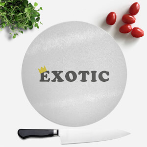 Exotic King Round Chopping Board