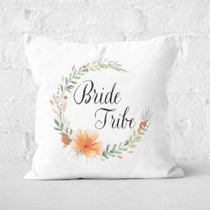 Bride Tribe Square Cushion