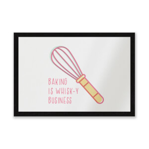 Baking Is Whisk-y Business Entrance Mat