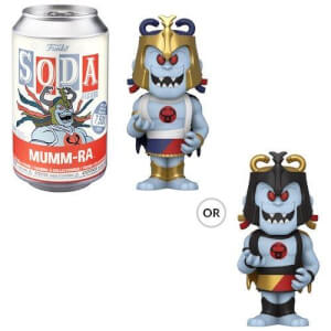 Thundercats Mumm-Ra Vinyl Soda Figure in Collector Can