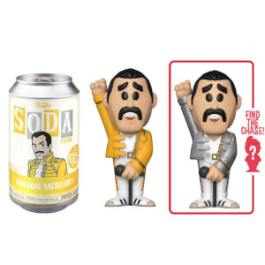 Queen Freddie Mercury Vinyl Soda Figure in Collector Can