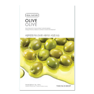 THE FACE SHOP Real Nature Sheet Mask Olive
