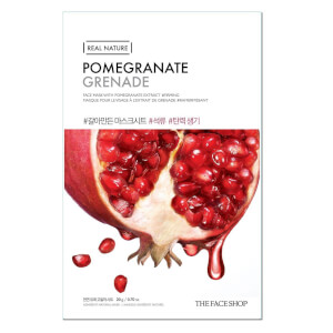 THE FACE SHOP Real Nature Sheet Mask Pomegranate