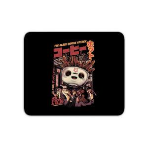 Ilustrata Black Coffee Kaiju Mouse Mat