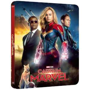 Exclusivité Zavvi : Steelbook Lenticulaire Captain Marvel - 3D (Blu-ray 2D Inclus)