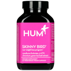 HUM Nutrition Skinny Bird Supplement Weight Loss Supplement (90 Vegan Capsules, 30 Days)