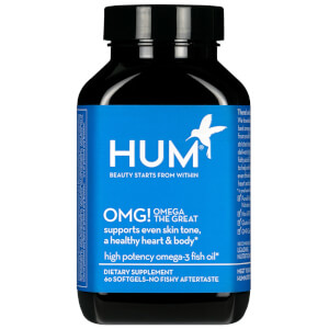 HUM Nutrition OMG! Omega the Great Fish Oil Supplement (60 Softgels, 30 Days)