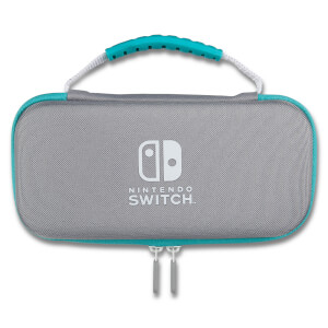 Nintendo Switch Lite Deluxe Traveller Case (Grey/Turquoise)