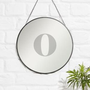 O Engraved Mirror