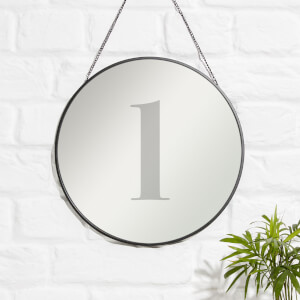 L Engraved Mirror