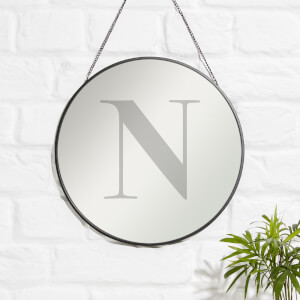 N Engraved Mirror
