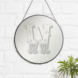 Cicrus W Engraved Mirror