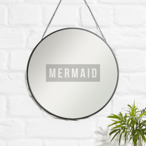 MERMAID Engraved Mirror