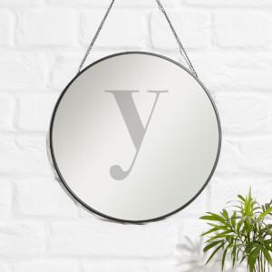 Y Engraved Mirror