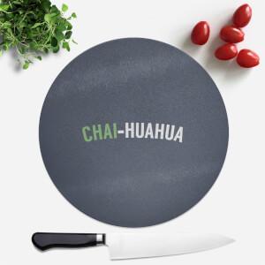 Chai-huahua Round Chopping Board