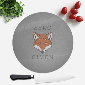 Zero Fox Given Round Chopping Board