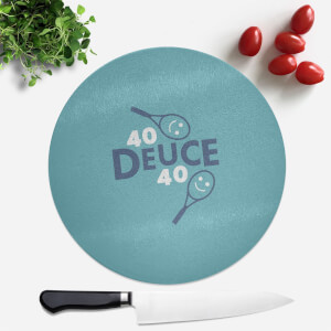 40 Deuce 40 Round Chopping Board