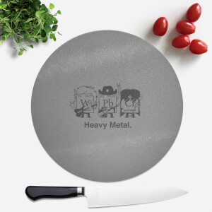 Heavy Metal Round Chopping Board