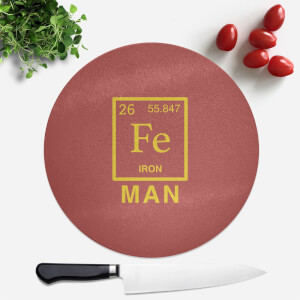 Fe Man Round Chopping Board