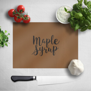 Maple Syrup Chopping Board