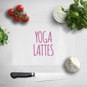 Yoga Lattes Chopping Board