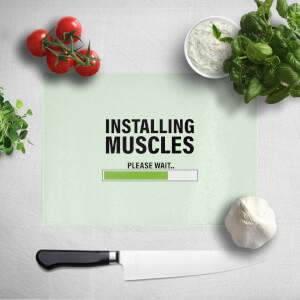 Installing Muscles Chopping Board