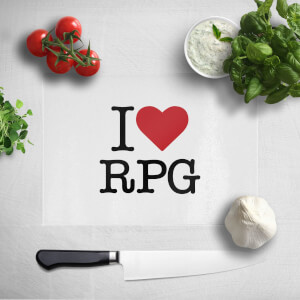I Love RPG Chopping Board