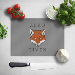 Zero Fox Given Chopping Board