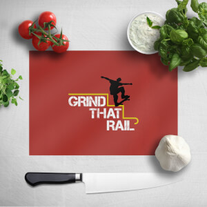 Grind That Rail Chopping Board