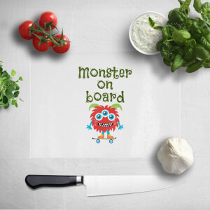Monster On Board Chopping Board
