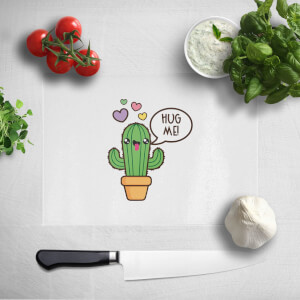 Hug Me Cactus Chopping Board