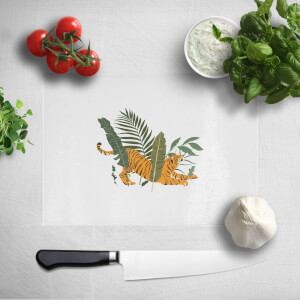 Pressed Flowers Afternoon Nap Chopping Board