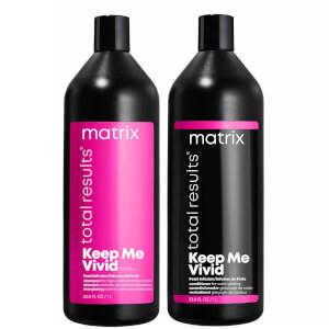 Matrix Total Results Keep me Vivid Shampoo and Conditioner Bundle 2 x 1000ml