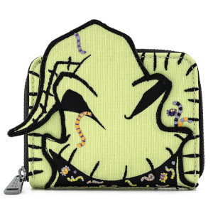 Loungefly Disney The Nightmare Before Christmas Oogie Boogie Creepy Crawlies Zip Around Wallet
