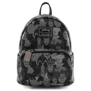 Loungefly Disney Villians Debossed Aop Mini Backpack