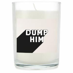Dump Him Candle
