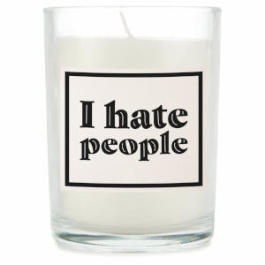 I Hate People Candle
