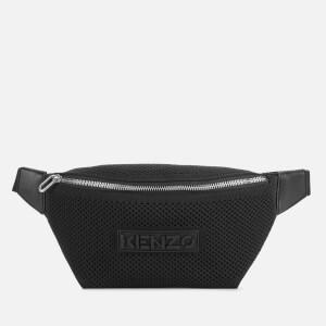 KENZO Women's Recycled Flyknit Bumbag - Black