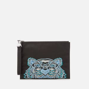 KENZO Kampus Canvas Large Pouch - Black